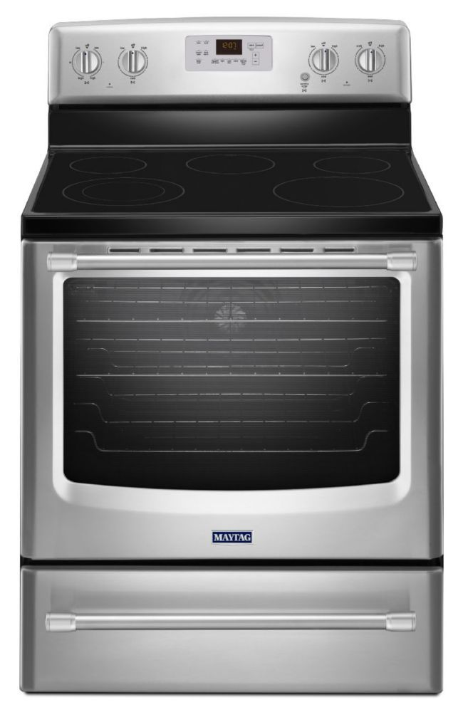 6.2 cu. ft.  Electric Freestanding Range with Convection Oven in Stainless Steel