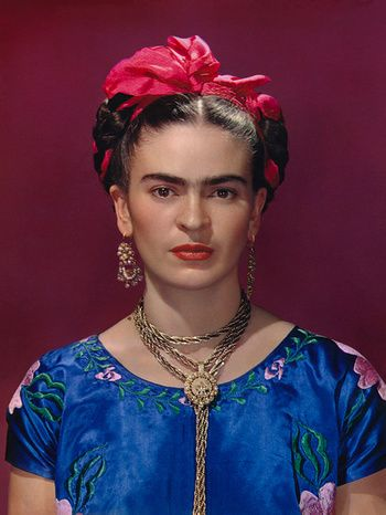 1940 - Frida Kahlo in Blue Blouse