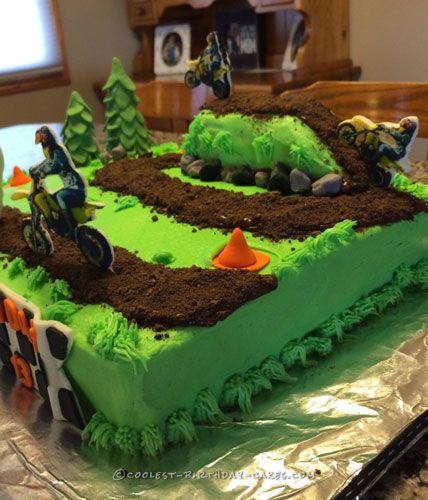 Best 25+ Motocross Cake Ideas On Pinterest