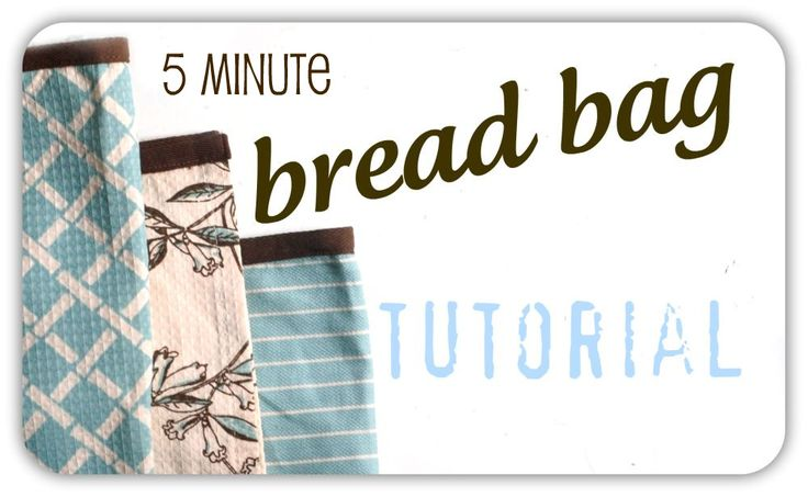 fabric bread bags - GREAT idea for gift giving! Give them a loaf of bread in a cute fabric bag and the The Artisan Bread in 5 min a Day book!!