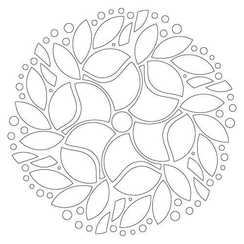 Mandala 6248 coloriage à imprimer