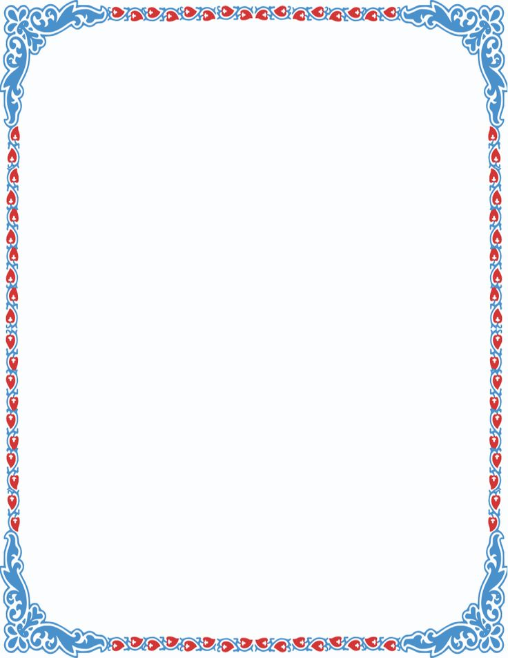 90 Colouring Page Border