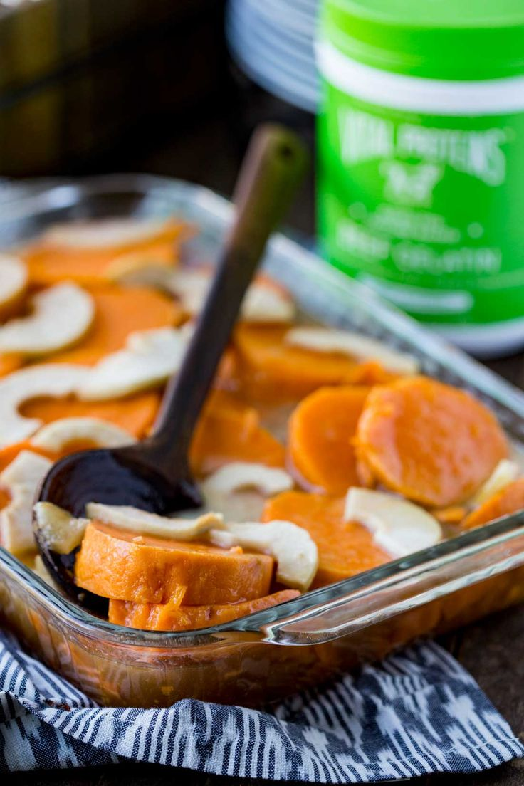 Thanksgiving Yams like you've never had before! #ad