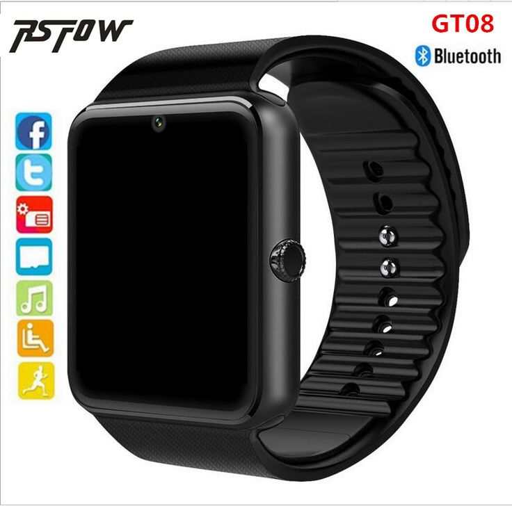 RsFow 2017 new Smart Watch GT08 Clock With Sim TF Card Slot Push Message Bluetooth Connectivity Android Phone better than DZ09 #Affiliate
