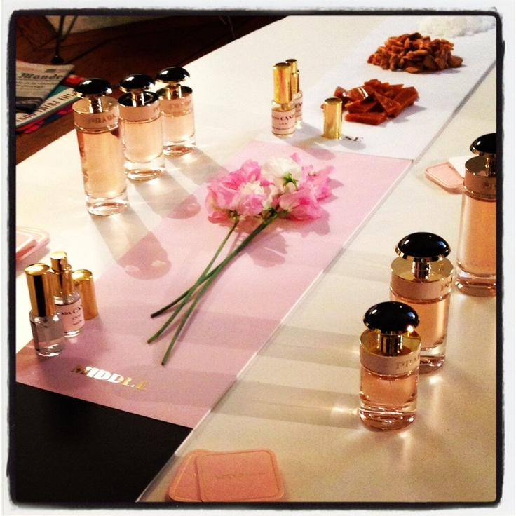 Spring perfume alert! Can't wait for the launch of this #Prada Candy L'Eau fragrance