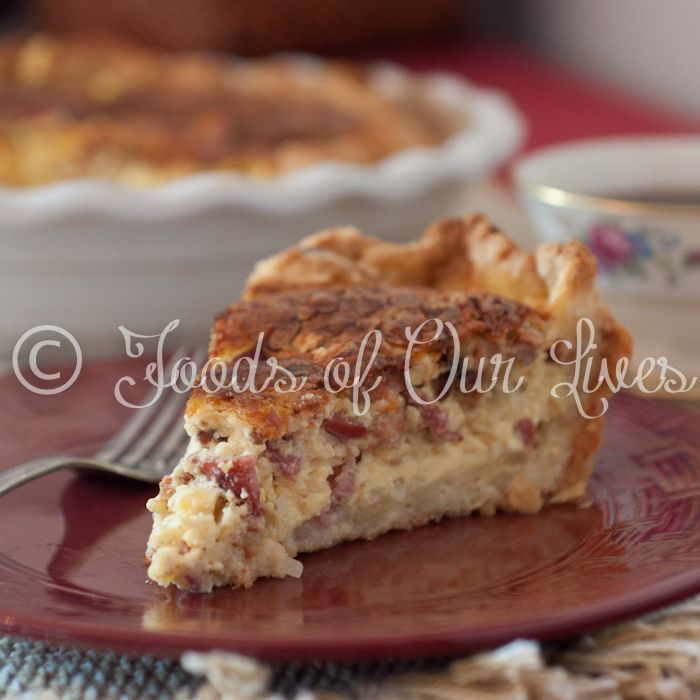 Quiche Lorraine - Foods of Our Lives