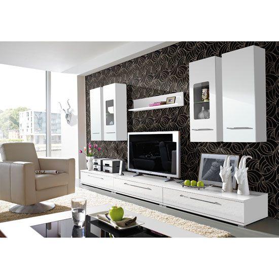 white furniture room of elegance sets ideas living media