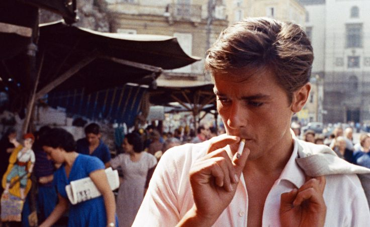 Alain Delon dans Plein Soleil #menswear #icon #cinema #style #fashion