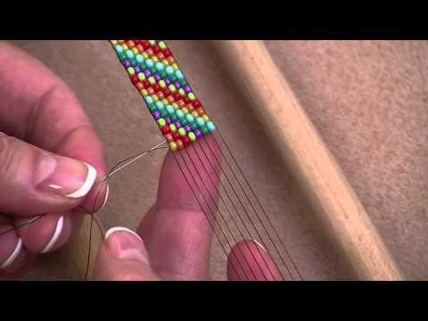 Tutoriel Bague en tissage Peyote - YouTube