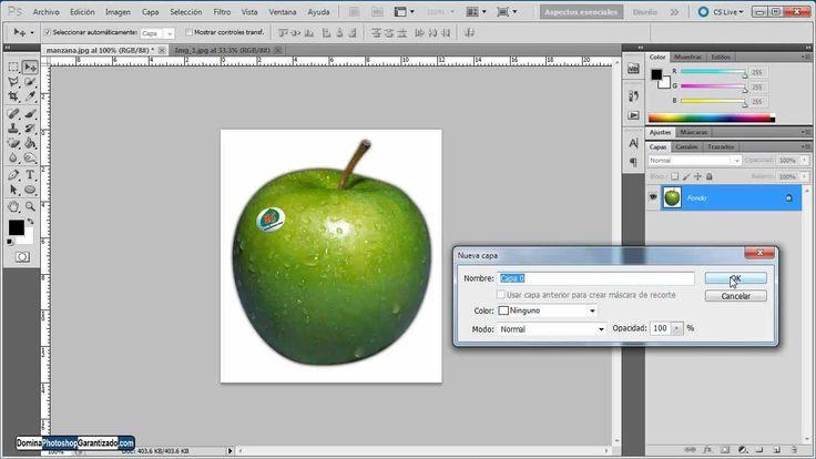 Como quitar fondo blanco en Photoshop - Tutorial de Photoshop