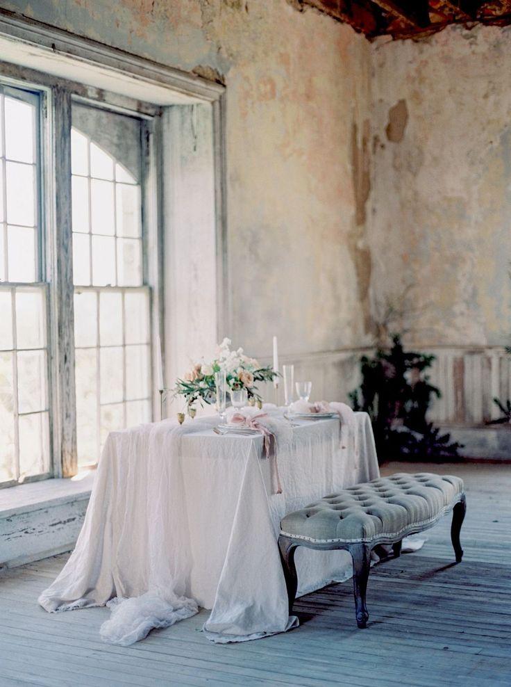 Indoor Old World Wedding Inspiration