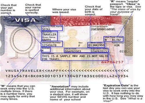 How do you determine the priority dates for a U.S. visa?