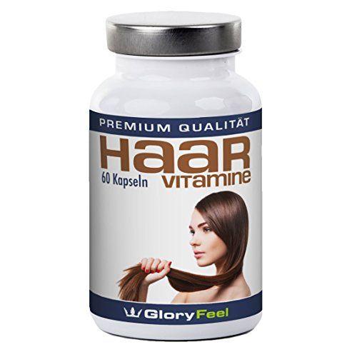 Haar Vitamine Kapseln + Biotin - Hochdosiert und Rein, Vitamine f�r die Haare + Biotin, Zink, Pantothens�ure und Vitamin A, C, E, B1, B2, B6, B12 - 60 vegane Kapseln Haar-Vitamin-Kur - Premiumqualit�t Deutscher Herstellung