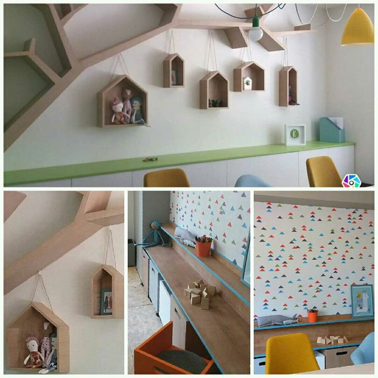 #Kidsdesign #kindergarden #lightcolors #interiordesign
