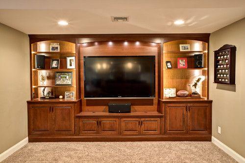Entertainment center built in design pictures remodel for Media center built in ideas
