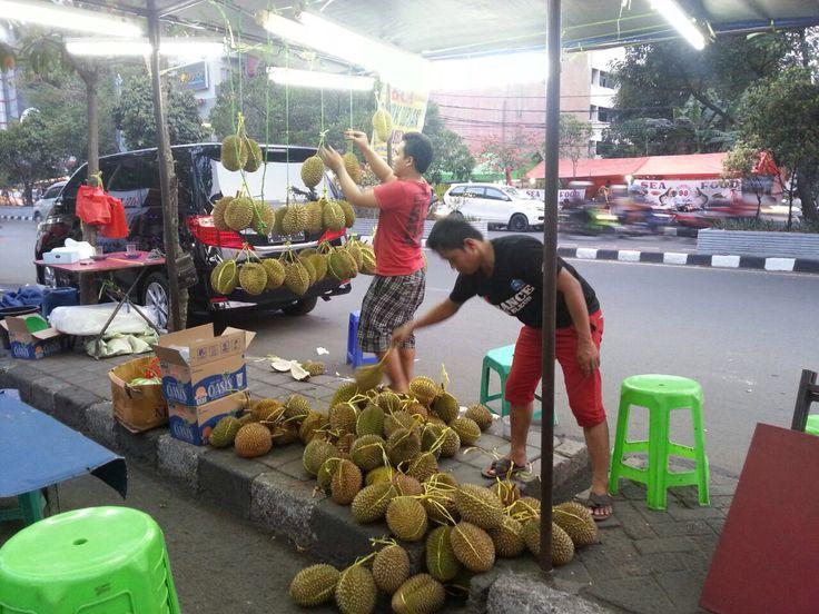 Indonesia. Jakarta. Durian.