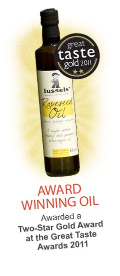 The British alternative to olive oil - Fussels' rapeseed oil