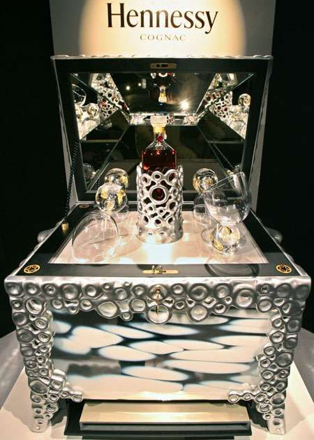 I admire how they design these amazing spirits. $200,000 Hennessy Cognac Treasure Chest - Beauté du Siècle From Russia With Luxury
