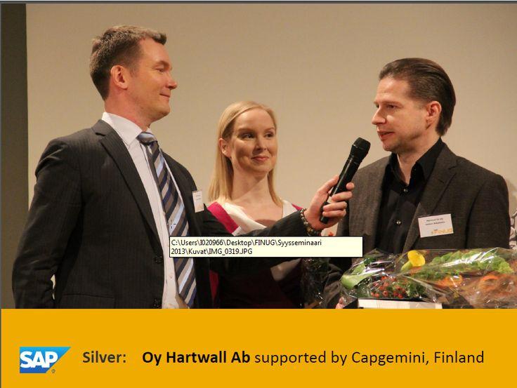 Petteri Aittokallio & SAP Silver -palkinto