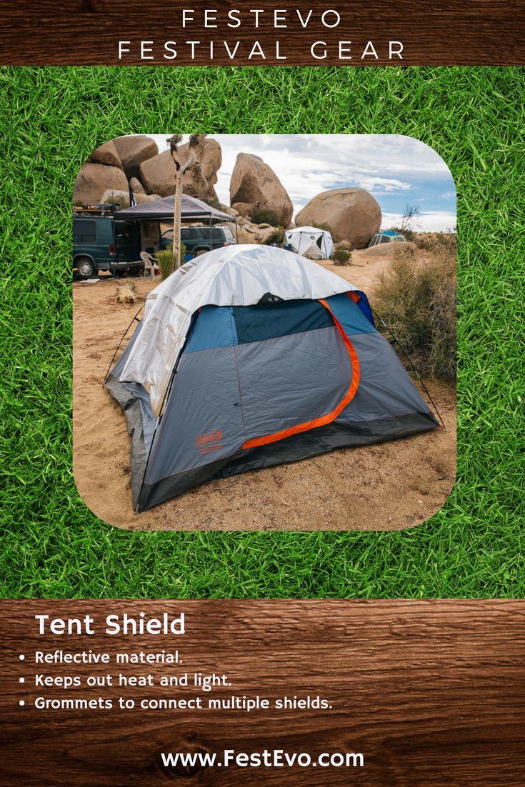 FestEvo Festival Gear - Tent Shield  - Stay up all night, sleep in and #FestivalBetter