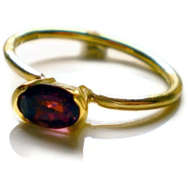 #Ring yellow #gold and #tourmaline #Handmade #London @catherinemarche  http://shop.catherinemarche-designs.com/