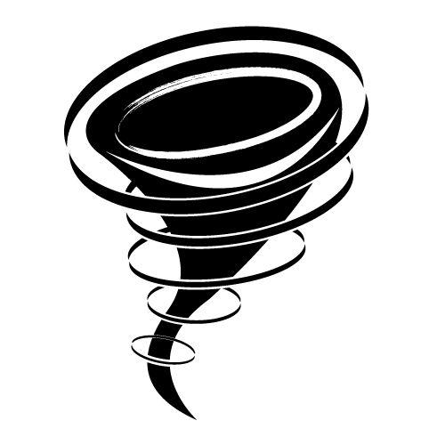 tornado illustration free logo graphic ideas Tornado Sign Clip Art Storm Trees
