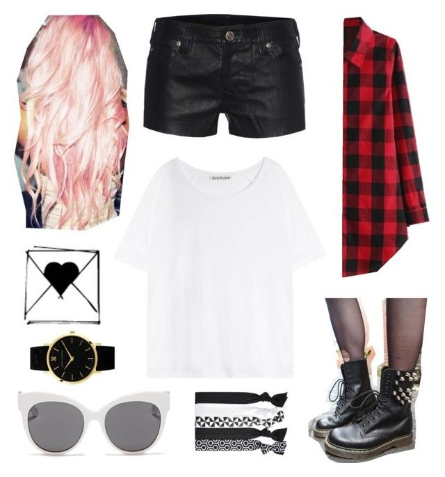 """""""Amy Valentine: Get the Look"""" by the-stolen-account-ouo ❤ liked on Polyvore featuring moda, Blanc & Eclare, True Religion, Acne Studios, Larsson & Jennings, amyvalentine y ouolookbook"""
