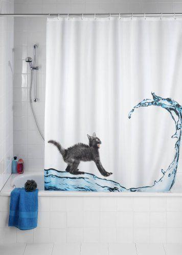 Cortinas De Baño Gatos: Para Ducha en Pinterest