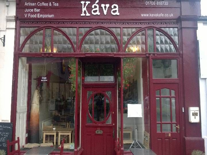 Káva Kafe in Todmorden, Calderdale. Recommended by India Taylor
