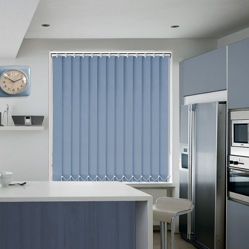 Memphis Blue Vertical Blind