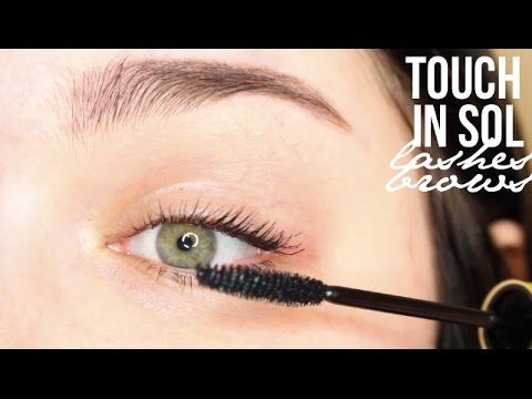 Touch in Sol Browza gel brow pencil & Stretchex Last Effect Mascara | An...