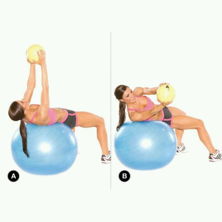 Stability Ball Russian Twist: 1304 Best Images About Biggest Loser Club On Pinterest