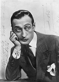 "Prince Antonio Focas Flavio Angelo Ducas Comneno De Curtis di Bisanzio Gagliardi, best known by his stage name Totò (15 February 1898–15 April 1967) or as Antonio De Curtis, and nicknamed il principe della risata (""the prince of laughter""), was an Italian comedian, film and theatre actor, writer, singer and songwriter."