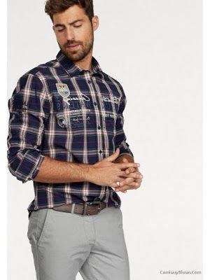 Camisas para Hombre Informales  668a9f3796672