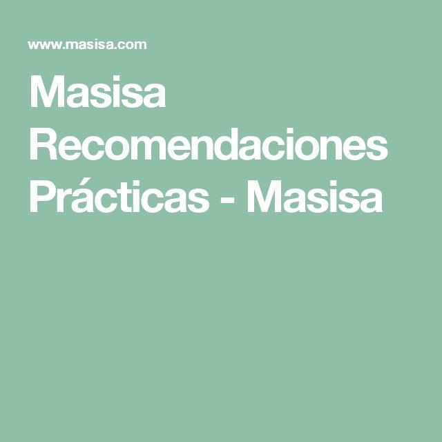 Masisa Recomendaciones Prácticas - Masisa