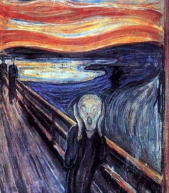 Una dimensione di pura disperazione che non ha il conforto di nessuna azione salvifica, neppure il suicidio. E. Munch