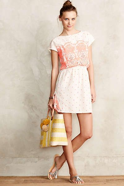 Embroidered Callie Dress