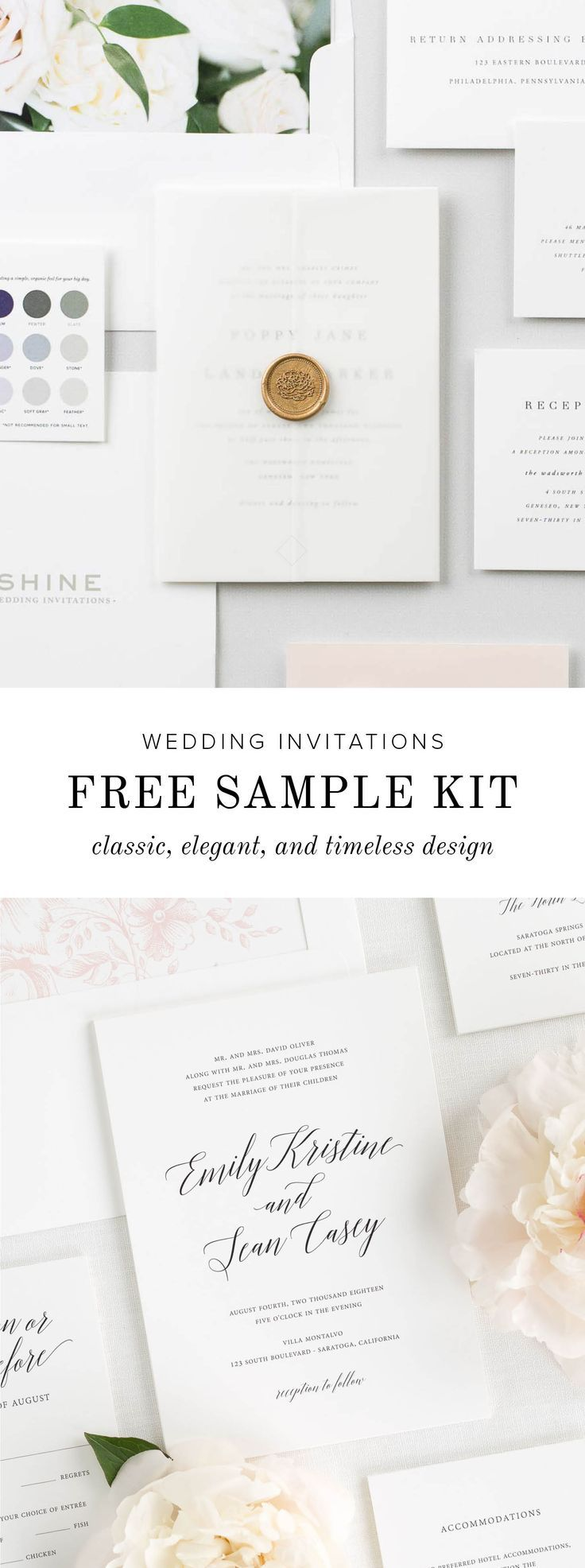 952 Best Shine Wedding Invitations Images On Pinterest Destination