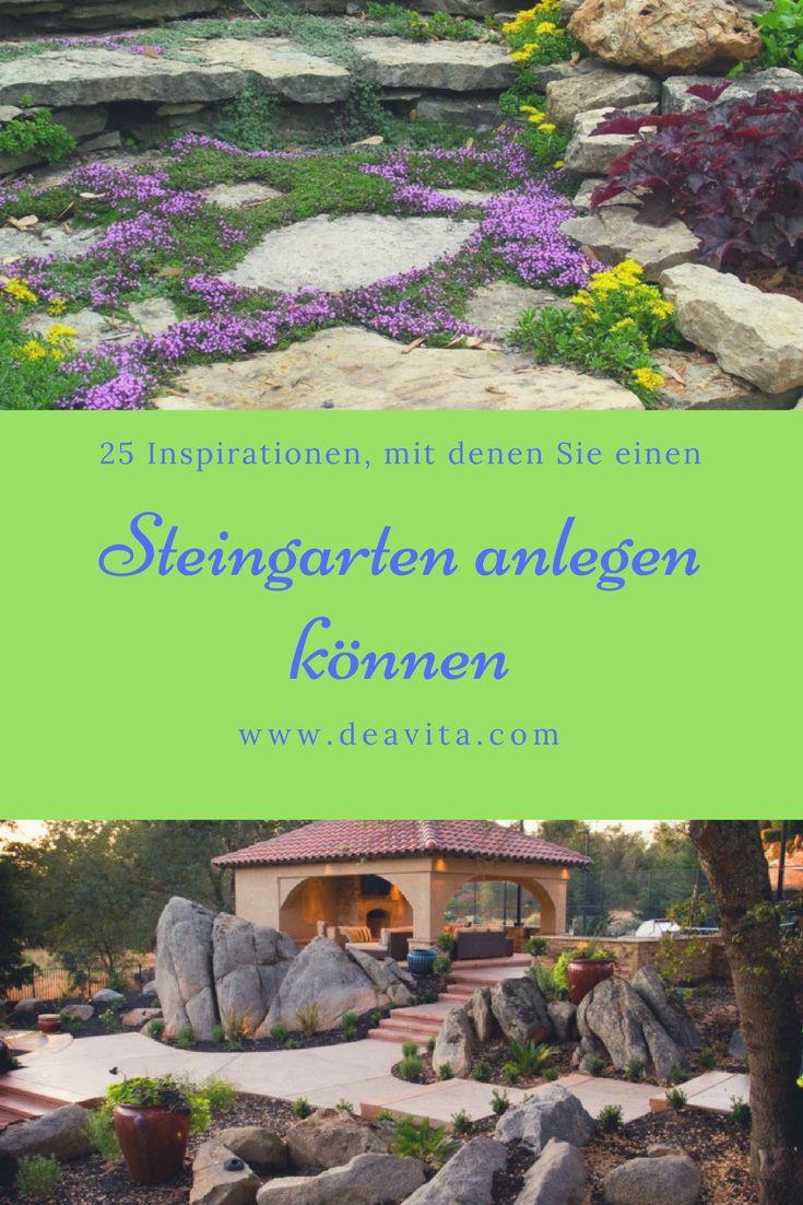 the 25+ best steingarten anlegen ideas on pinterest | garten, Gartenarbeit ideen