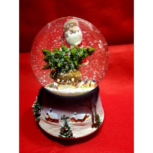 palle di neve | Christmas Shop - Palla di neve Santa and Child