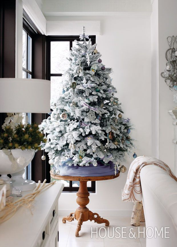 66 Best Christmas Tree Decorating Ideas Images On Pinterest  - Christmas Decorating Ideas Without A Tree