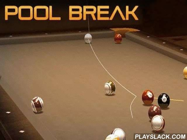 Pool Break Pro: 3D Billiards  Android Game - playslack.com , challenge any of many kinds of billiards shown  in the game. challenge in singleplayer as well as in multiplayer. a set of more than two dozen kinds of billiards, pool, pool and other akin games. You can challenge either alone or with oppositions over the Internet.