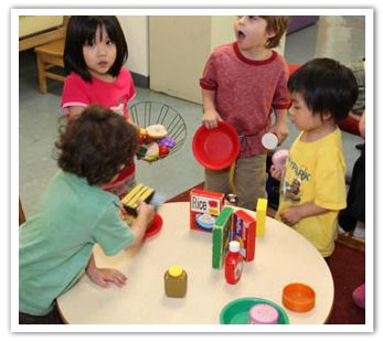 """Good Toys for Young Children by Age and Stage: Toys for young children need to match their stages of development and emerging abilities. Many safe and appropriate play materials are free items typically found at home. Cardboard boxes, plastic bowls and lids, collections of plastic bottle caps, and other """"treasures"""" can be used in more than one way by children of different ages."""