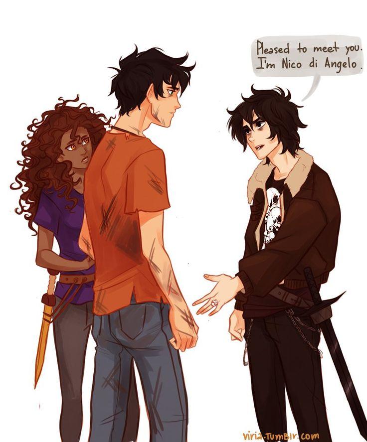Pleased to meet you. by *viria13 on deviantART Heroes of Olympus