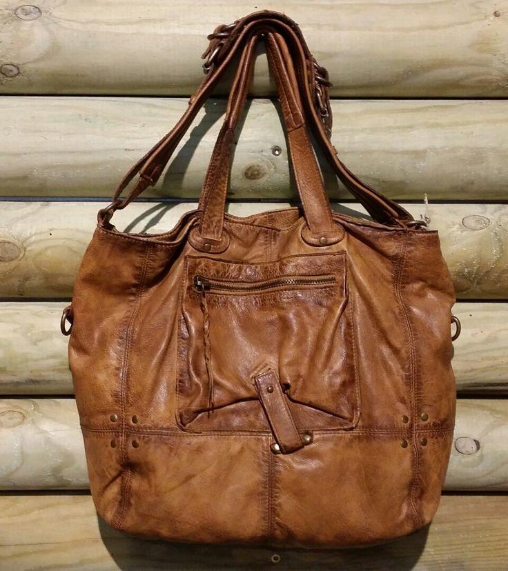 Messenger Bag pelle di vitello invecchiato di LaSellerieLimited, $260,00