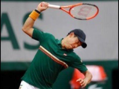 【全仏オープンテニス】錦織のラケット破壊に師匠・松岡修造氏も不快感「通常は最も温厚な選手の1人」海外