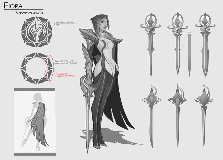 ArtStation - Fiora Champion Visual Update - Final Concept, Michael Maurino