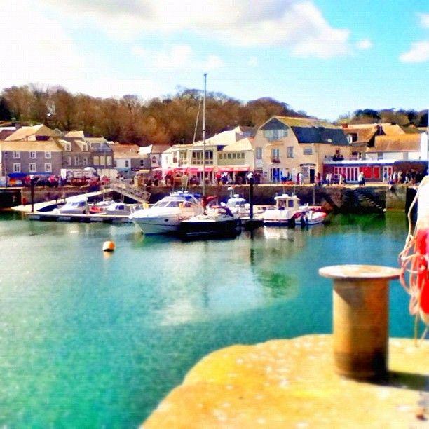 El Puerto de Padstow en Padstow, Cornwall