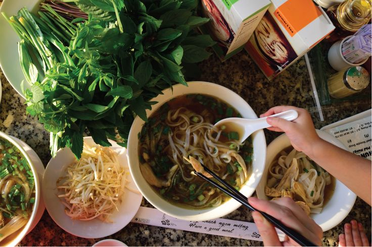 "Vietnamese Tea & ""Phở""  #tea #vietnamesenoodle #teapins"