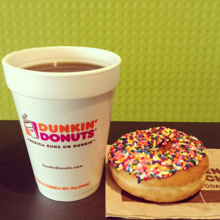 Who needs Peanut Butter and Jelly when you have Donuts and Coffee?